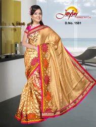 Lotus Style Party Wear Saree
