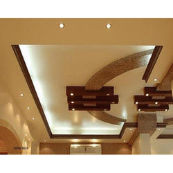 False Ceiling on design of pop ceiling