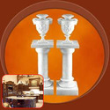 Marble Columns for Interior Decoration