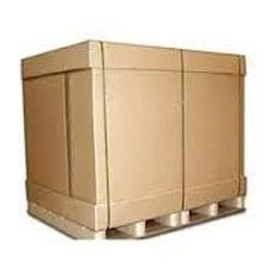 Corrugated Box with Pallets