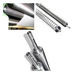Stainless Steel Wrinkle Removing Scroll Roll