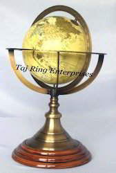 Antique Desktop Globe