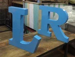 Decorative Loft Style Alphabet Letter Symbol