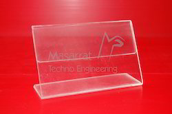 Acrylic - L Tent Card Holder
