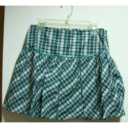 Checked Skirts
