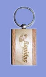 Wooden Keyring