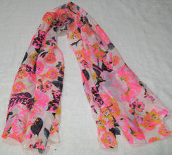Printed Neon Stole