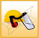 pvc hdpe industrial safety helmet