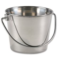 Stainless Steel Bucket without Joint