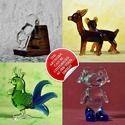Glass Figurines - Animals - Handmade Custom Designs