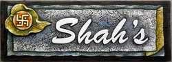 Designer Name Plate Shahs