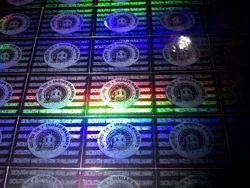 3D Security Hologram Labels