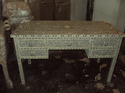 Bone Inlay Writing Desk