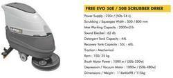 Free Evo 50e / 50b - Scrubber Drier