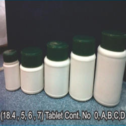 Round Tablet Bottle