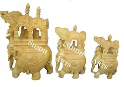 Wooden Carved Ambabaries