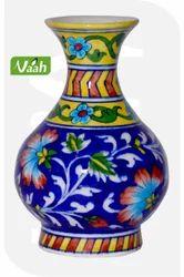 Vaah Ceramic Jaipur Blue Pottery Vase