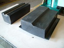 Rubber and Steel Moulded Components Cutting