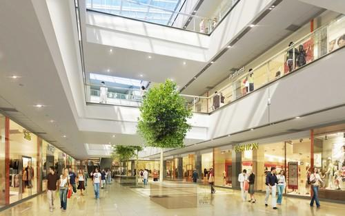 Commercial Interior Designing Services Mall Interior