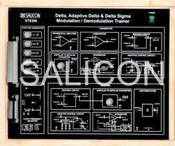 Delta/Adaptive Delta Modulation & Demodulation Trainer