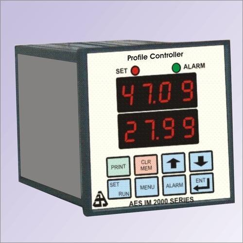 Profile Controller With Data Logging
