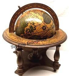 Desktop Nautical Brass Globe