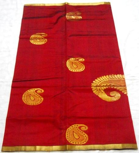 Silk Cotton Hand Weaved Sarees