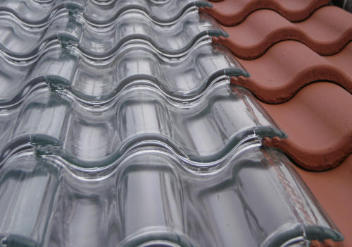Glass Roofing Tiles Glass Roof Tiles