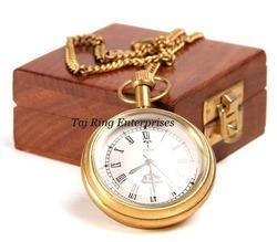 Pocket Watch With Box