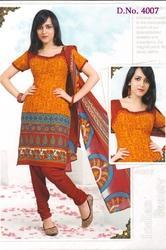 synthetic dress material indian beauty