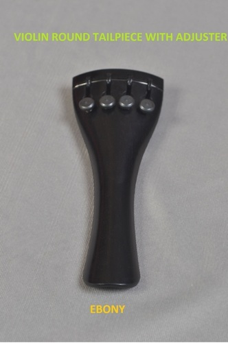Violin Round Tailpiece with Adjuster
