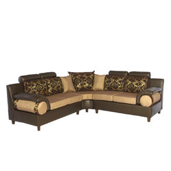 Corner Cushioned Sofa Set