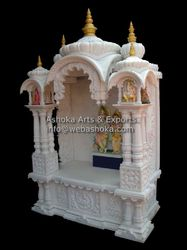 Traditional Carved Marble Temple