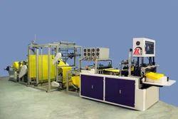 non woven d cut bag making machine