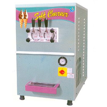 Twin Flavor Soft Ice Cream Machine