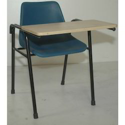 PVC Writing Pad Chair