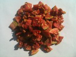 Dehydrated Red Guava Pieces