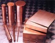 Chromium Copper Round and Flat Bar