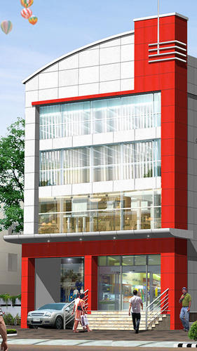 Front Elevation Cladding Design : Acp cladding design elevations joy studio gallery