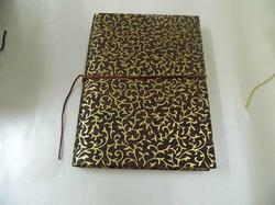 Foil Printed Handmade Paper Notebooks