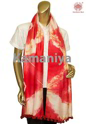 Tie & Dyed Silk Scarf