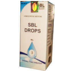 SBL Drops No 3 Urinary Tract Infection