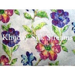 Printed Designer Silk Fabric
