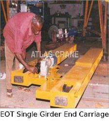 EOT Single Girder End Carriage