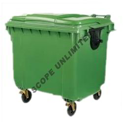 Four Wheeled Waste Collector