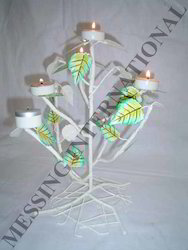Iron Stylish Candle Stand