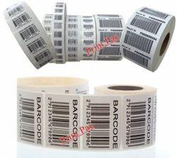 Pre Printed Bar Code Stickers
