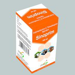 Sulphadiazine 20% and Trimethoprim 4% Injection