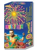 multi colour display aerial sky shot fireworks crackers