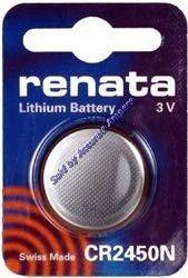 Renata Cr2450n 3v Lithium Battery Swiss Made
